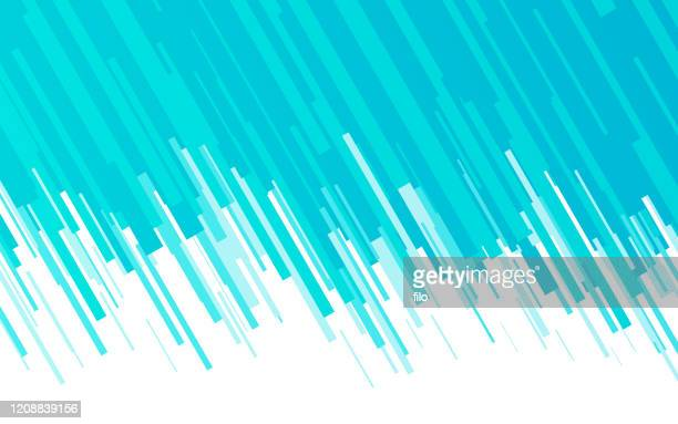 blue lines blend abstract background - slanted stock illustrations