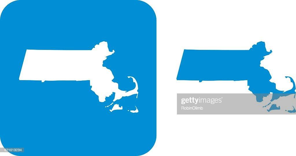 Blue Massachusetts Icons
