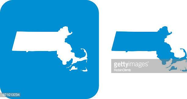 Blue Massachusetts Icons