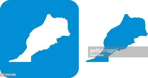 Blue Morocco Icons