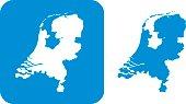 Blue Netherlands icons