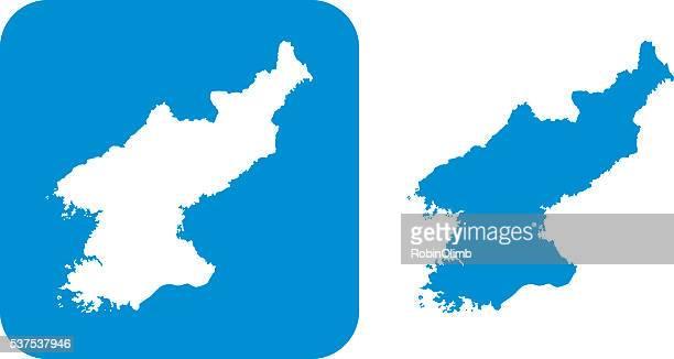Blue Norh Korea Icon