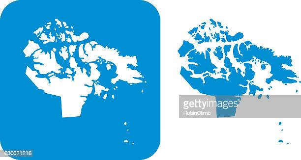 Blue Nunavut Icons