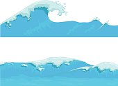 Blue Ocean Wave, giant wave