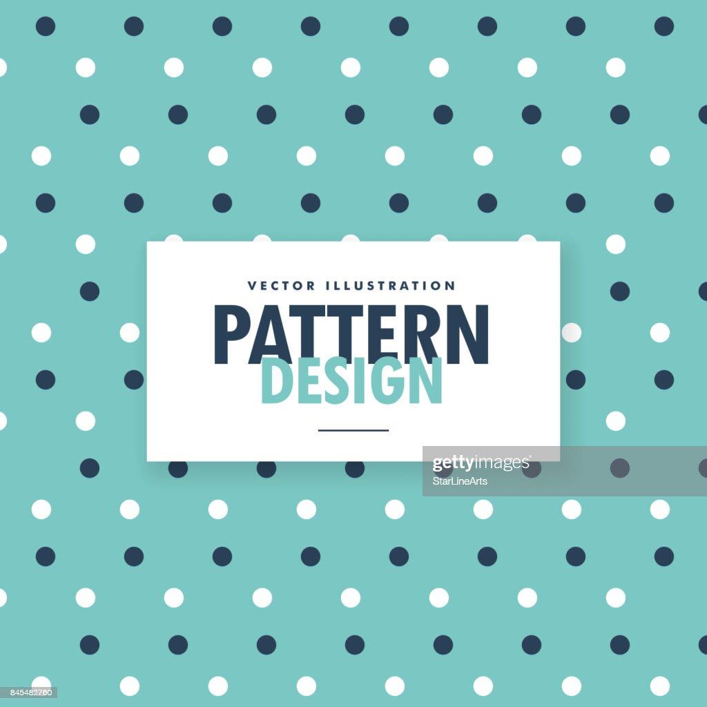 blue polka dots vector background