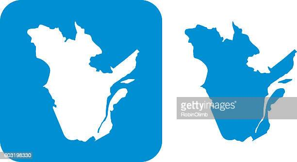 Blue Quebec Icon