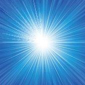 Blue Radiance Background II