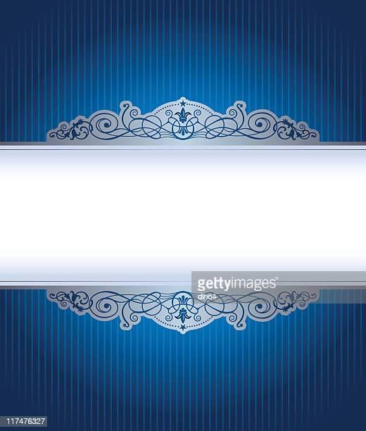 Blue Royal Frame