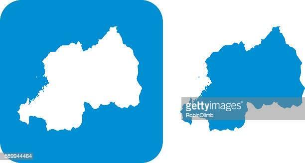 Blue Rwanda Icons
