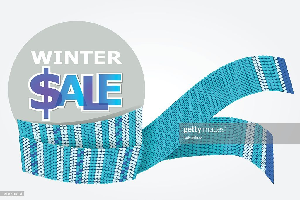 blue scarf for winter sale