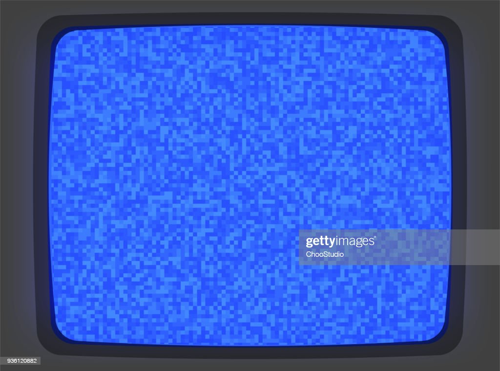 VHS Blue Screen Intro