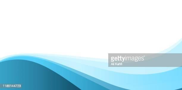 ilustrações, clipart, desenhos animados e ícones de fundo abstrato simples azul - azul