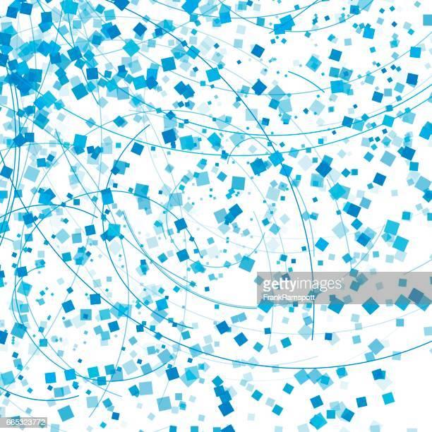 blauen himmel fliegen art vektormuster geometrische elemente - frankramspott stock-grafiken, -clipart, -cartoons und -symbole