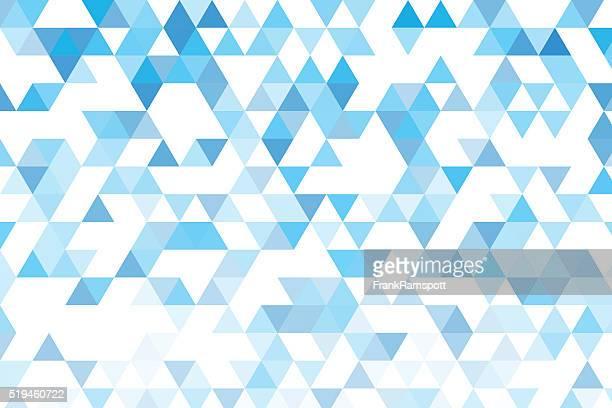 Blauer Himmel Dreieck Muster mit Farbverlauf