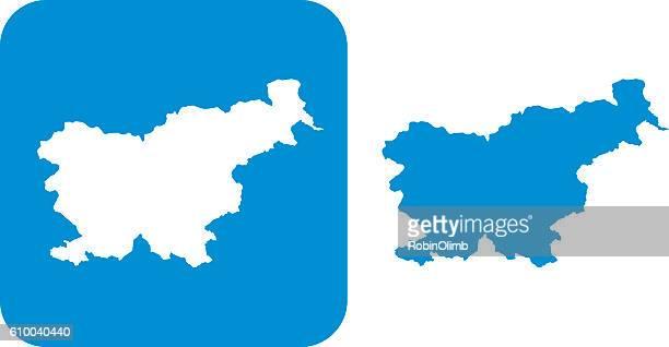 Blue Slovenia Icon