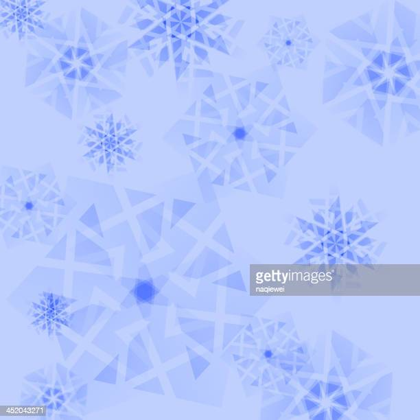 blue snowflake background - blink stock illustrations, clip art, cartoons, & icons