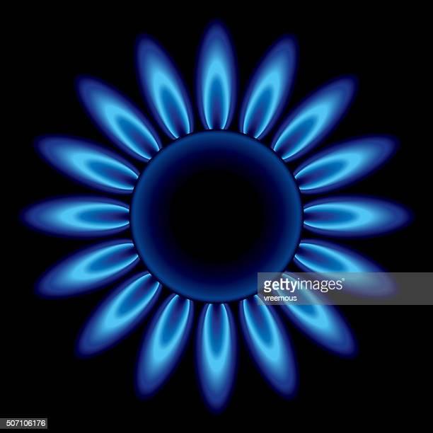 Blue Herd Flames