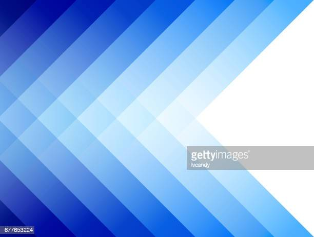 blue striped background - multi layered effect stock illustrations