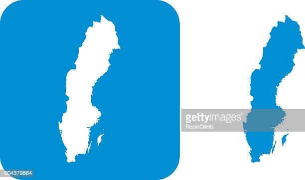 Blue Sweden Icon