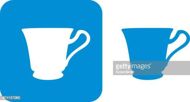 Blue Teacup Icon 4