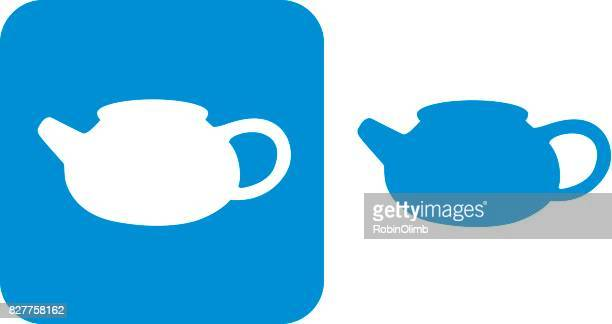 Blue Teapot Icons 9