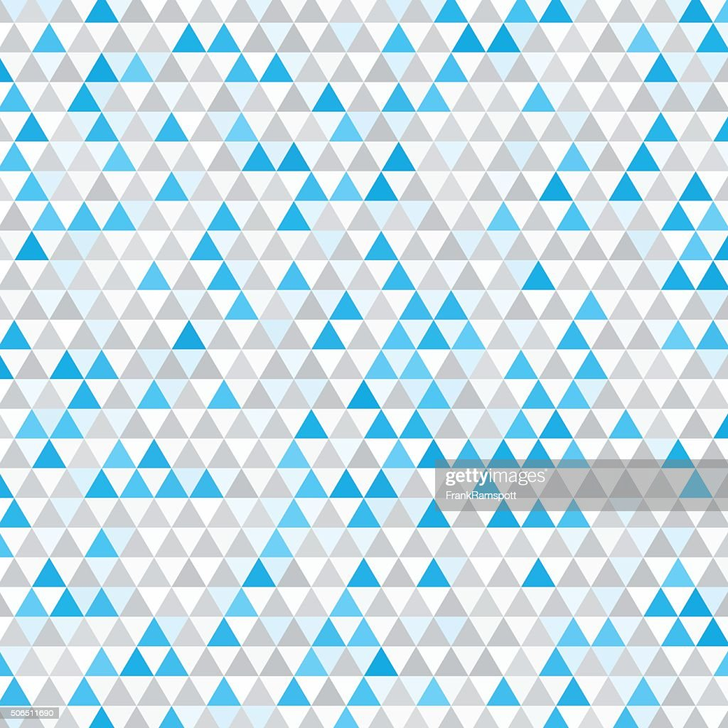 Blue Tec Equilateral Dreieck Muster : Stock-Illustration