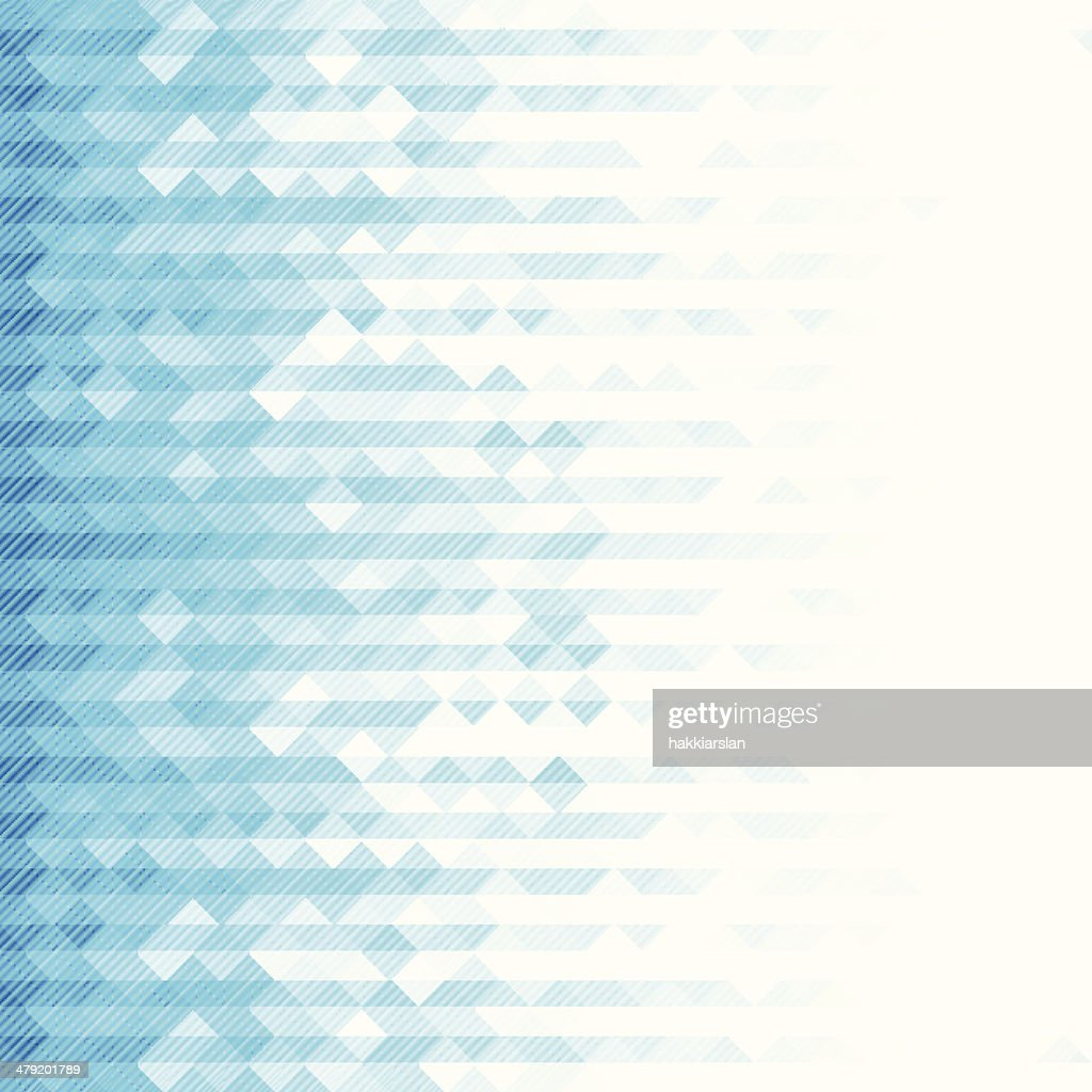 Blue toned geometric background