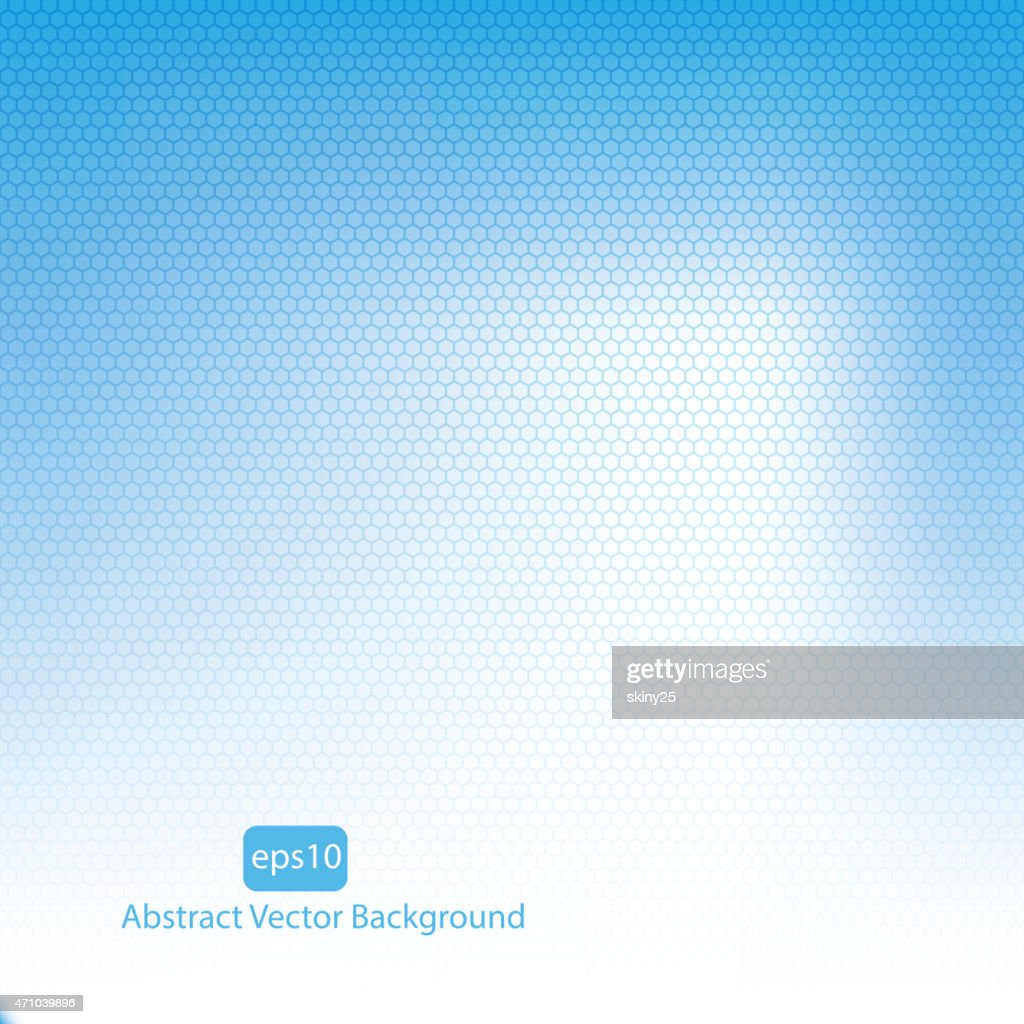 Blue vector abstract background.