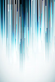 Blue vertical stripes and white light on a background