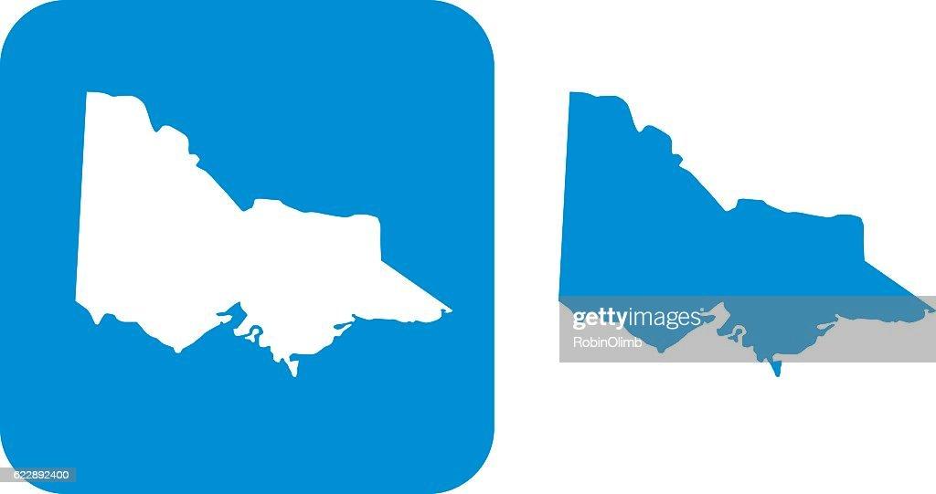 Blue Victoria Icons