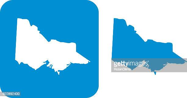 blue victoria icons - オーストラリア ビクトリア州点のイラスト素材/クリップアート素材/マンガ素材/アイコン素材