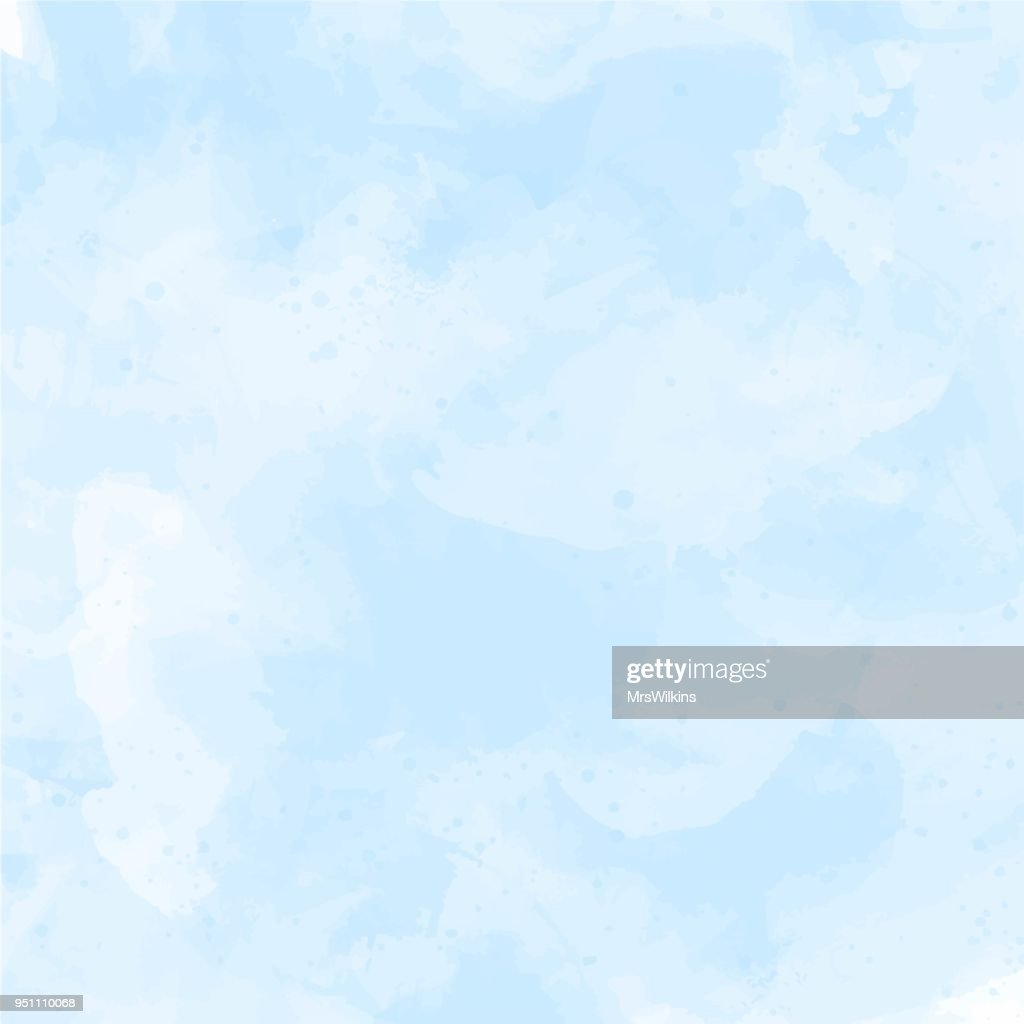 Blue, violet watercolor background vector