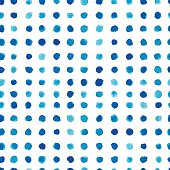Blue watercolor pattern design