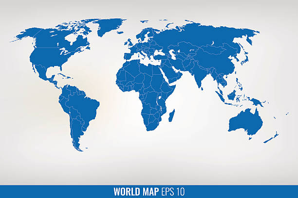 Free world map images pictures and royalty free stock photos blue world map vector gumiabroncs Images