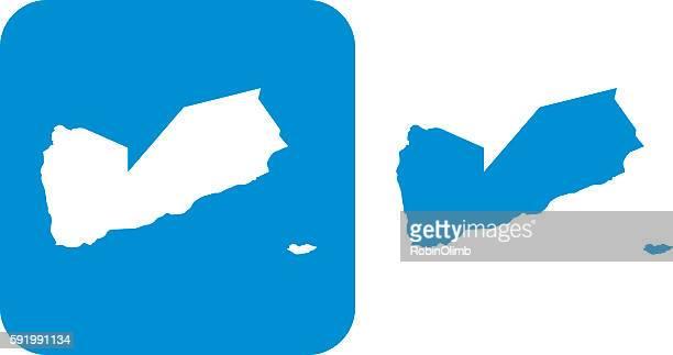 blue yemen icons - yemen stock illustrations, clip art, cartoons, & icons