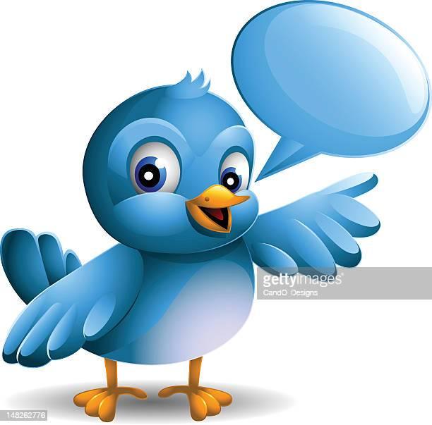 Bluebird: Speech Bubble