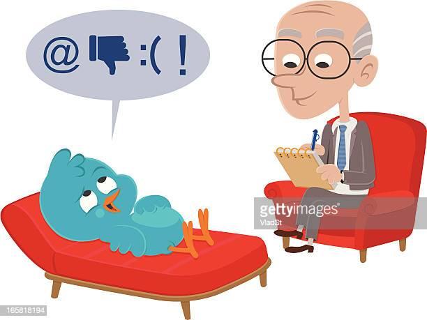 Bluebird visits psychiatrist