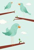Bluebirds Singing