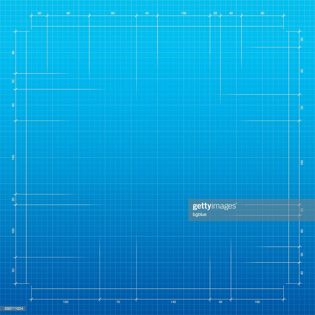 Blueprint background graph paper vector art getty images blueprint background graph paper vector art malvernweather