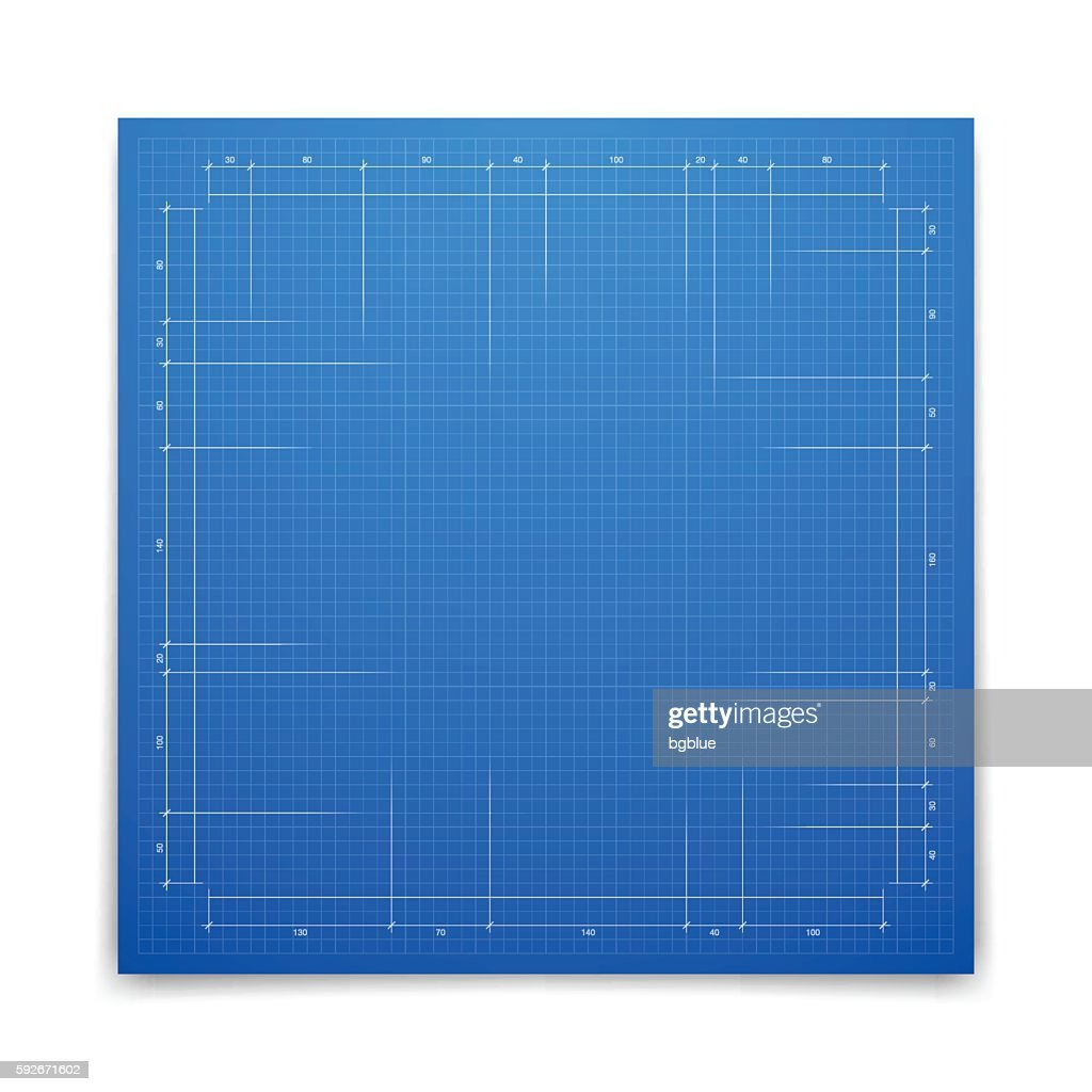 Blueprint background graph paper vector art getty images blueprint background graph paper vector art malvernweather Image collections