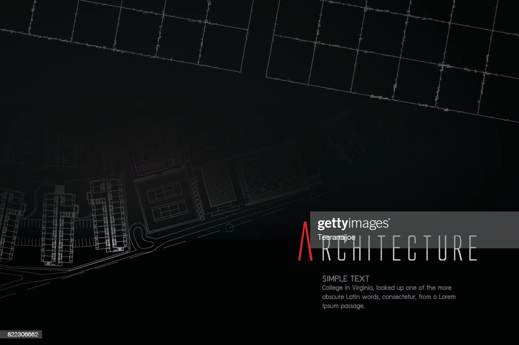Blueprint cad architectural plan drawing white on black background blueprint cad architectural plan drawing white on black background malvernweather Image collections