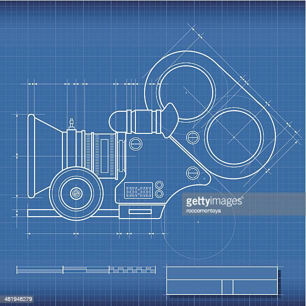 Blueprint Camera Film