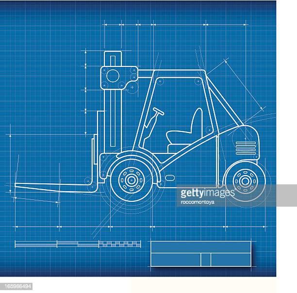 Blueprint Forklift