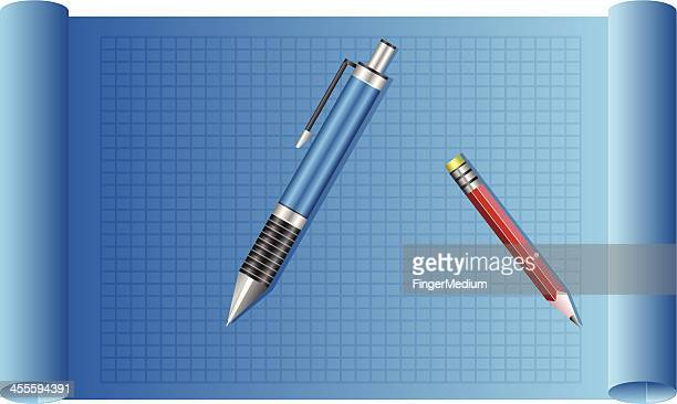 Blueprint Graph Paper