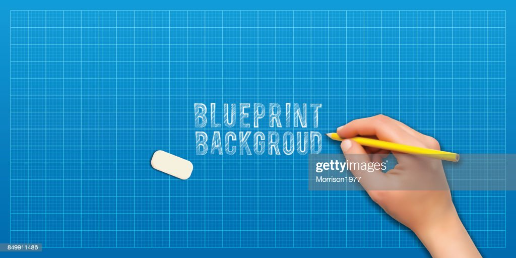 Blaupause Raster Papier Hintergrund Vektor Vektorgrafik | Getty Images