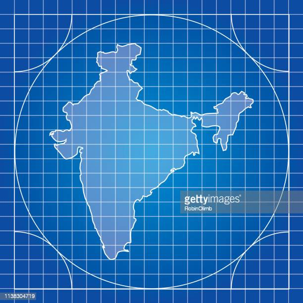 Blueprint India Map