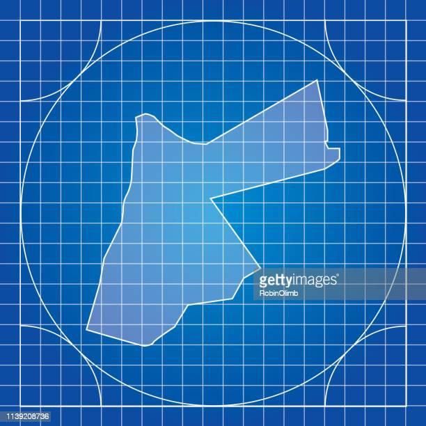 Blueprint Jordan Map