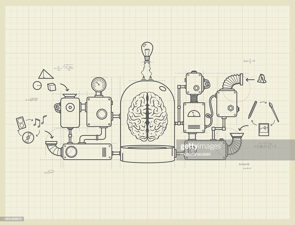 Blueprint of an idea machine project