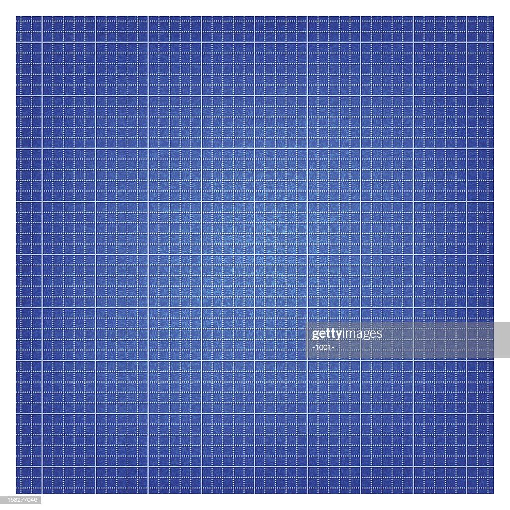 Blueprint paper. 1 credits. Seamless pattern texture with lines grid