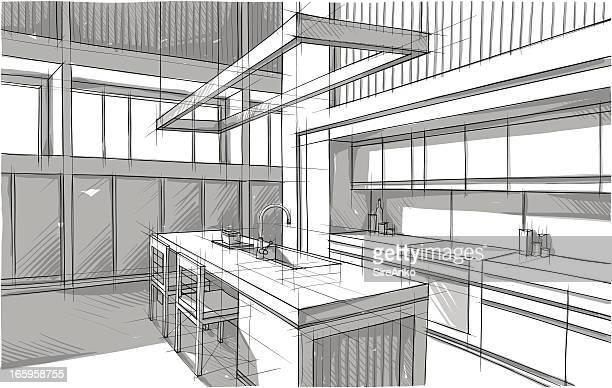 ilustrações, clipart, desenhos animados e ícones de o design - mesa mobília